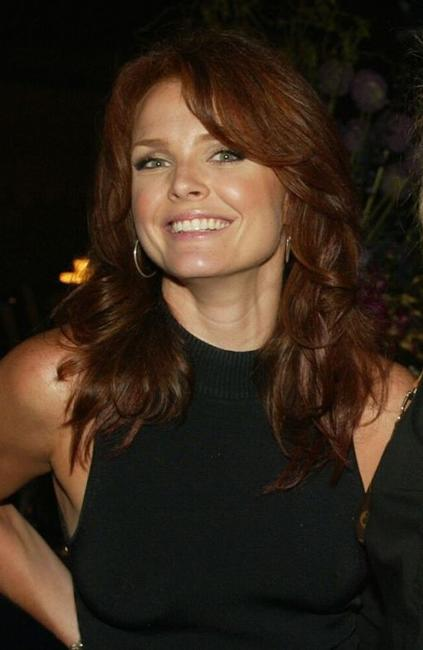 Dina Meyer at the WB Television Network's 2002 Summer party.