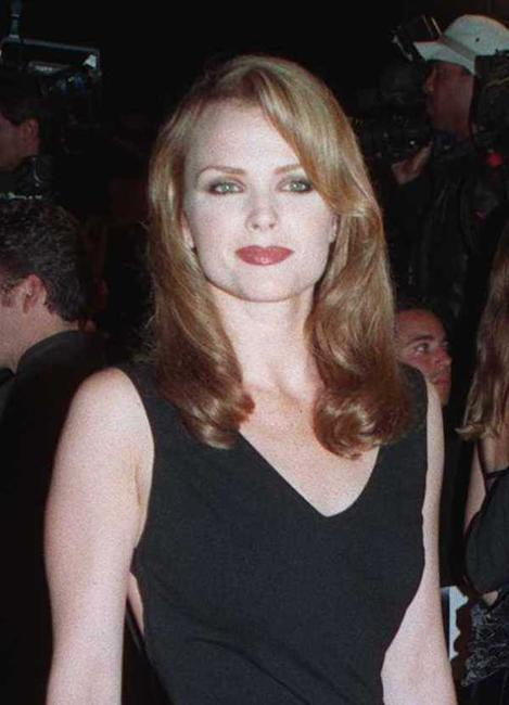 Dina Meyer at the premiere of