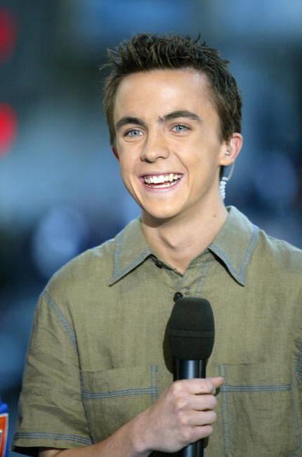 Frankie Muniz at the MTV's Total Request Live.
