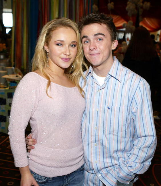 Frankie Muniz and Hayden Panettiere at the premiere of