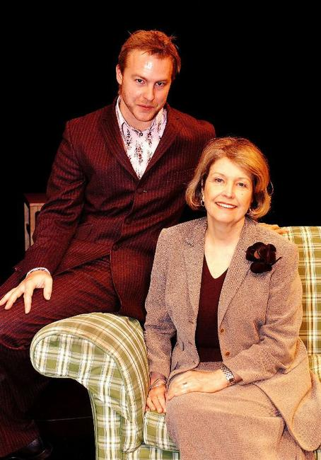 Samuel West and Anne Reid at the Chichester Theatre Season Launch.
