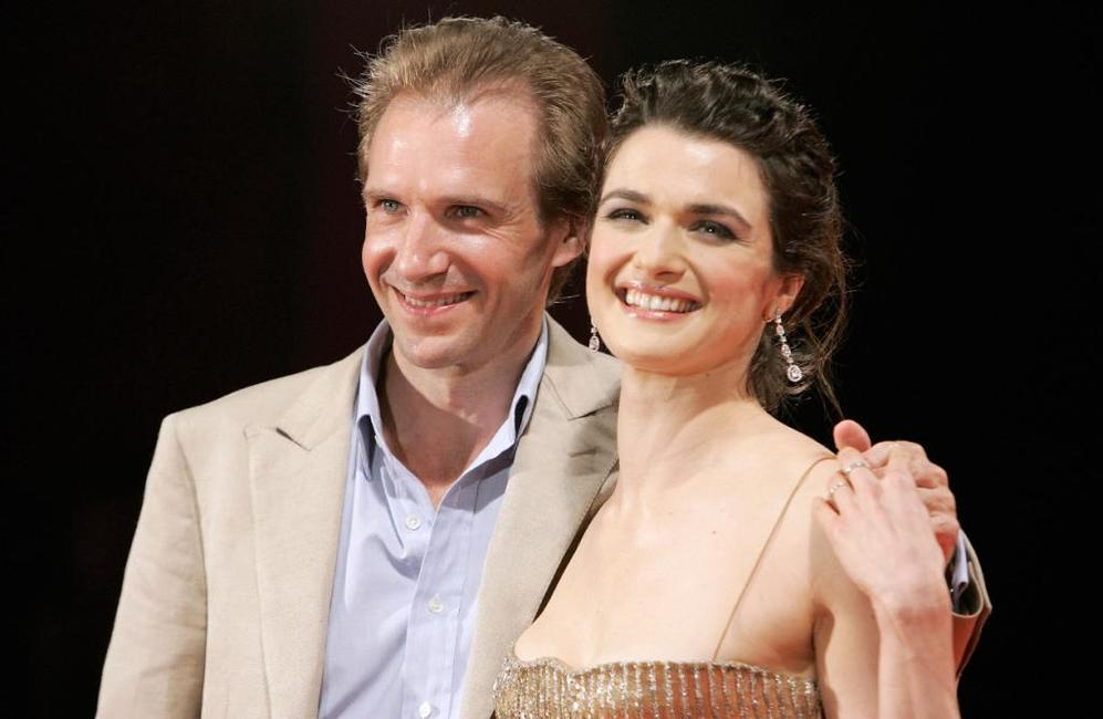 Ralph Fiennes and Rachel Weisz at the 62nd edition of Venice International Film Festival the premiere of