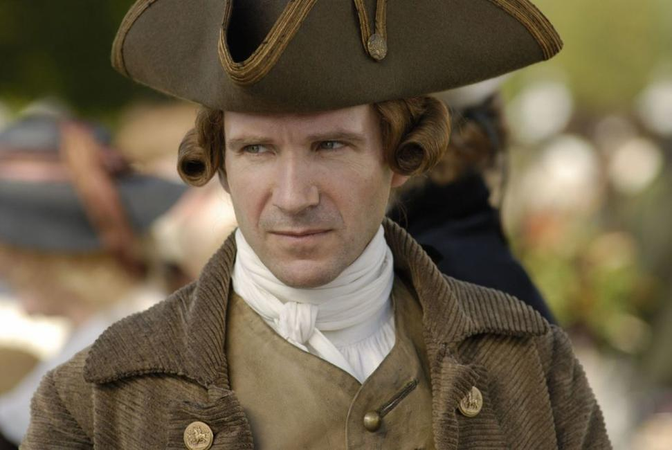 Ralph Fiennes as Duke of Devonshire in