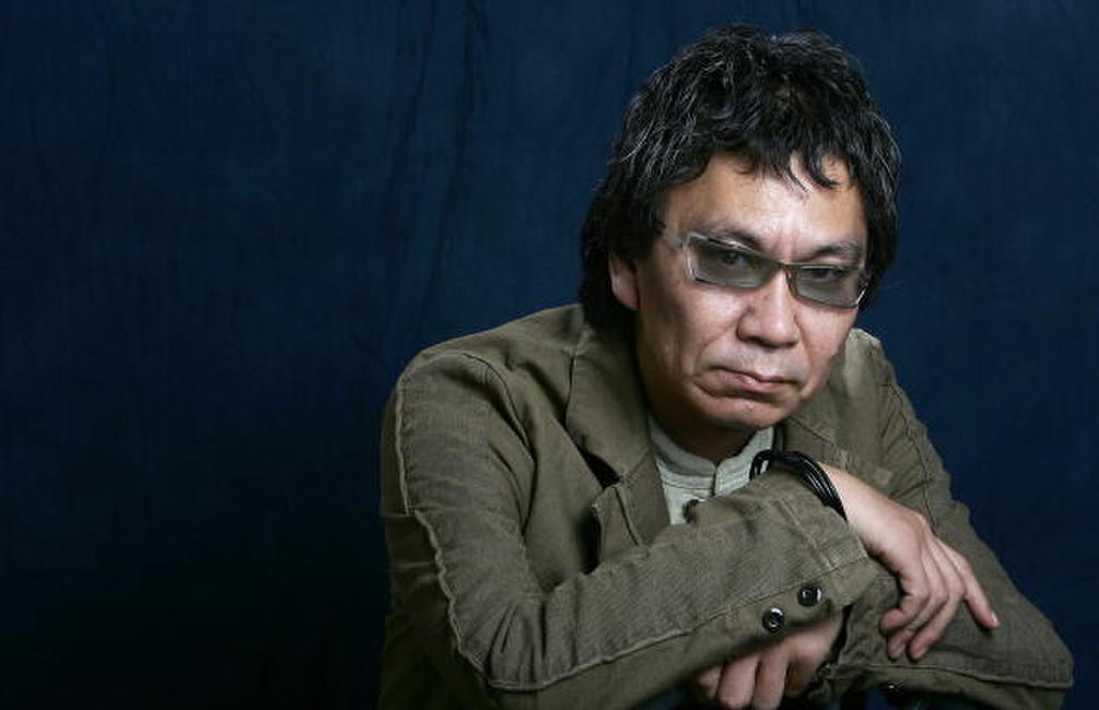 Takashi Miike at the 7th French Asian Film Festival.