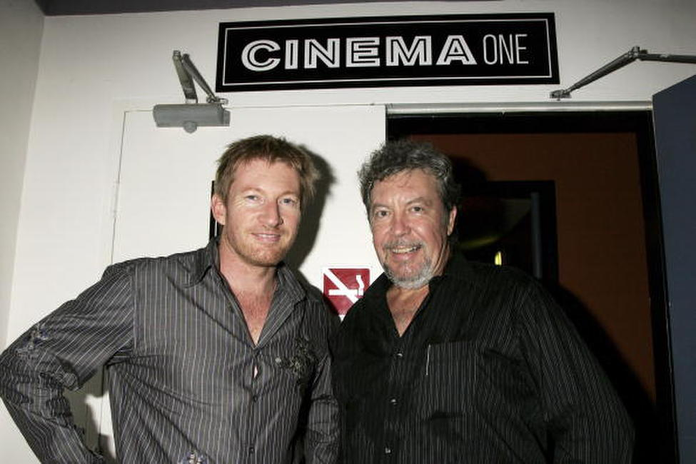 David Wenham and Andrew Urban at the Urban Cinefile 10th Anniversary Party celebrating