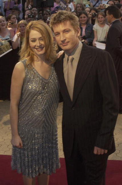 Miranda Otto and David Wenham at the Sydney premiere of