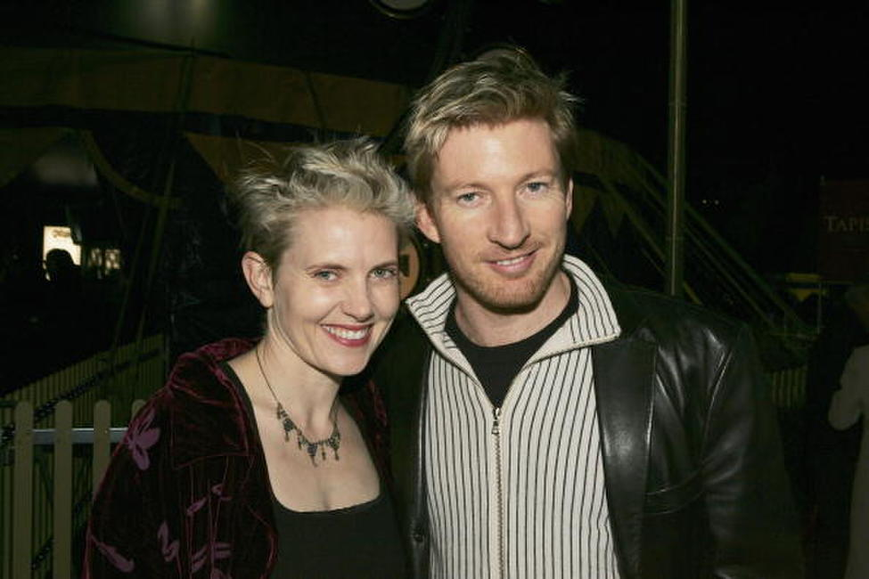 Katie Agnew and David Wenham at the premiere of