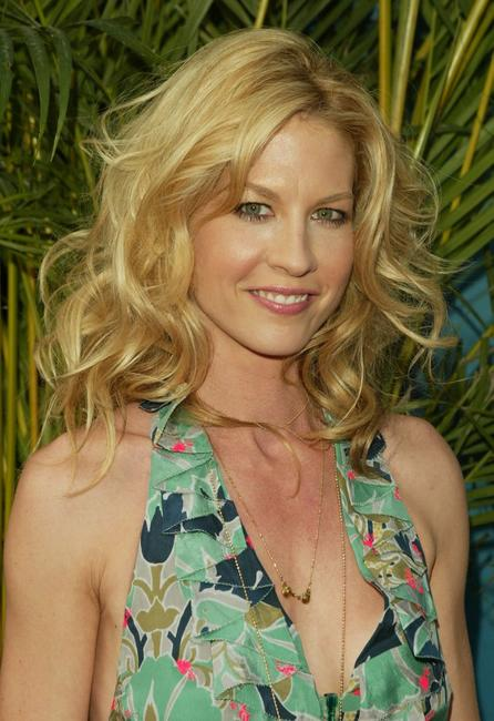 Jenna Elfman at the CBS upfront.
