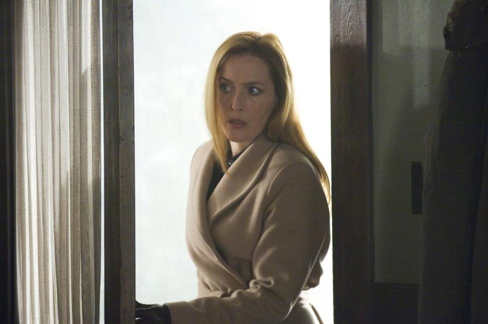 Gillian Anderson as Dana Scully in