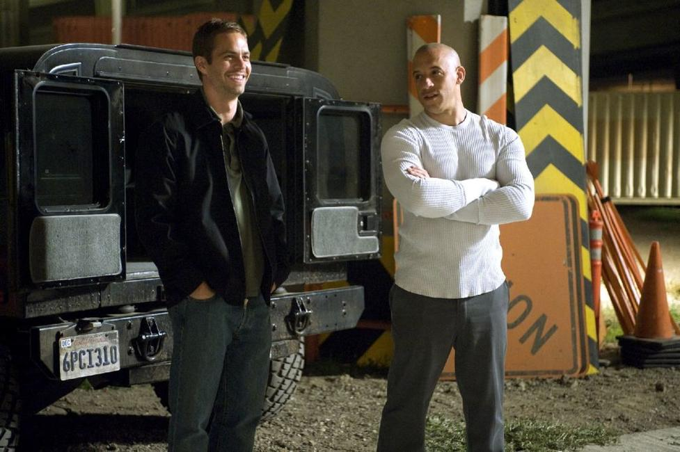Vin Diesel and Paul Walker in