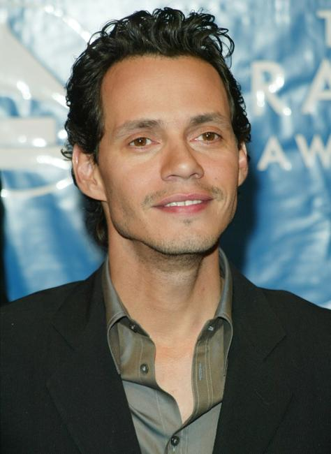 Marc Anthony at the 45th Annual Grammy Awards.