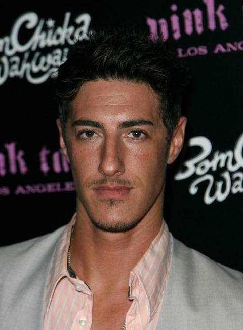 Eric Balfour at the launch of Pink Taco.