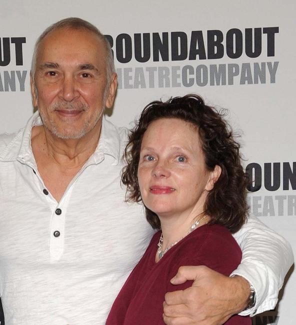 Frank Langella and Maryann Plunkett at the rehearsals of