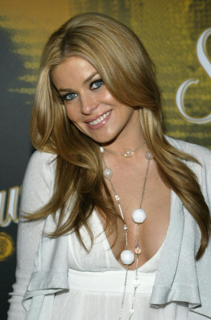 Carmen Electra at the launch of Sauza's new cocktail, the