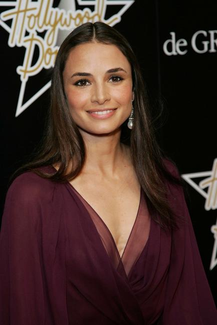 Mia Maestro at the 1st Hollywood Domino Tournament.