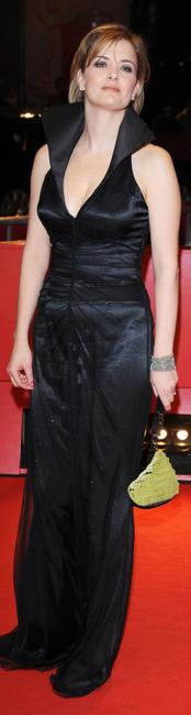 Lucy Russell at the premiere of