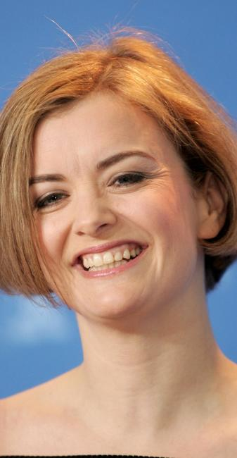 Lucy Russell at the photocall to promote