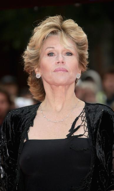 Jane Fonda during the Rome Film Festival at the premiere of