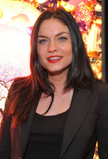 Jodi Lyn O'Keefe at the launch party of Heatherettes new make-up line.