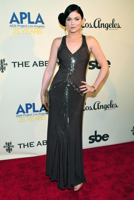 Jodi Lyn O'Keefe at the Envelope Please 7th Annual Oscar viewing party.
