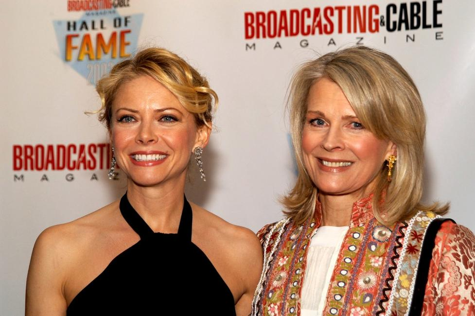 Faith Ford and Candice Bergen at the 13th Annual Broadcasting and Cable Magazine Hall of Fame.