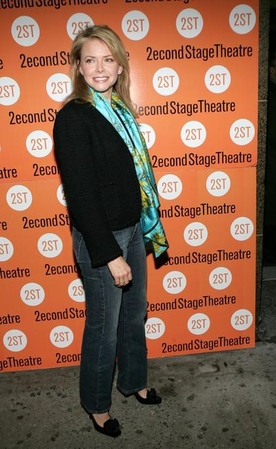 Faith Ford at the play opening night of