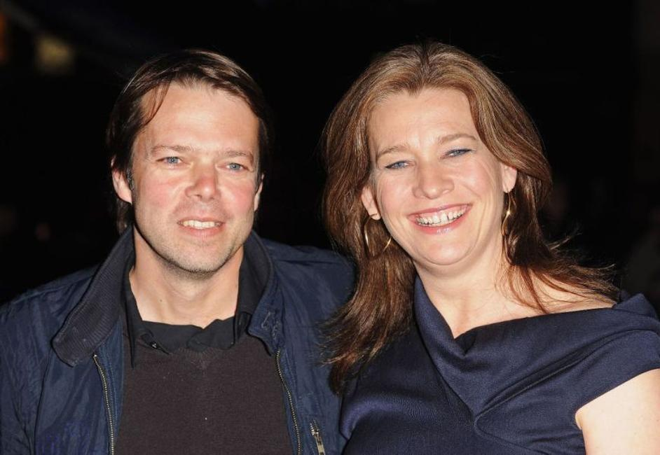 Hans-Christian Schmid and Kerry Fox at the premiere of