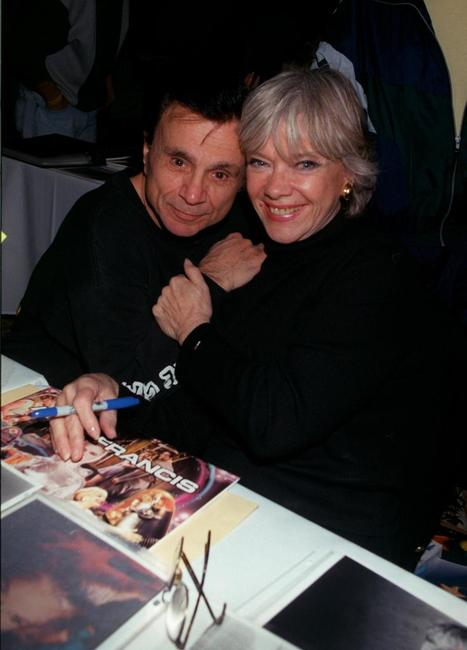 Robert Blake and Anne Francis at the Hollywood Collectors and Celebrity Show.