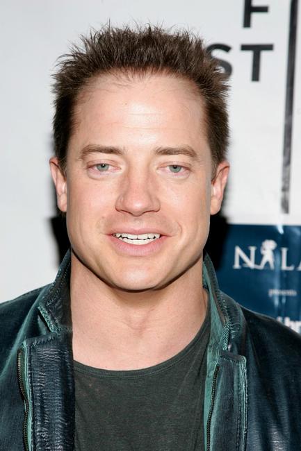 Brendan Fraser at the Cadillac after party of