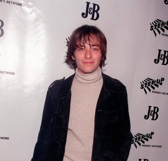 Edward Furlong at the third Annual Step Up Holiday party.