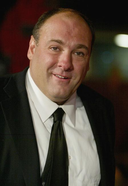 James Gandolfini at the HBO'S Post Emmy Party.