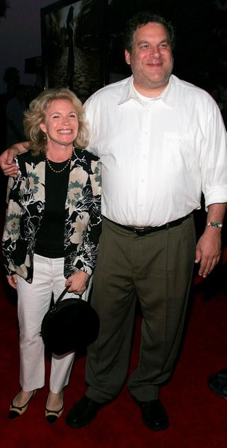 Jeff Garlin and wife Marla at the premiere of