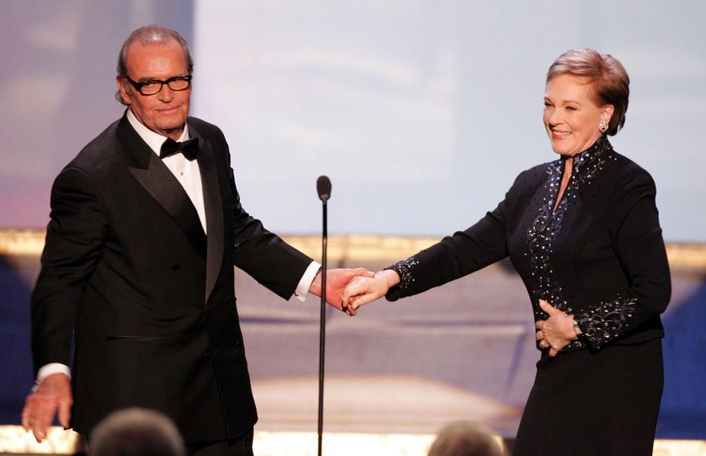James Garner and Julie Andrews at the 11th Annual Screen Actors Guild Awards.