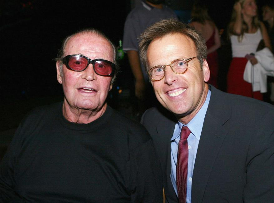 James Garner and Mark Johnson at the Los Angeles after-party for premiere of
