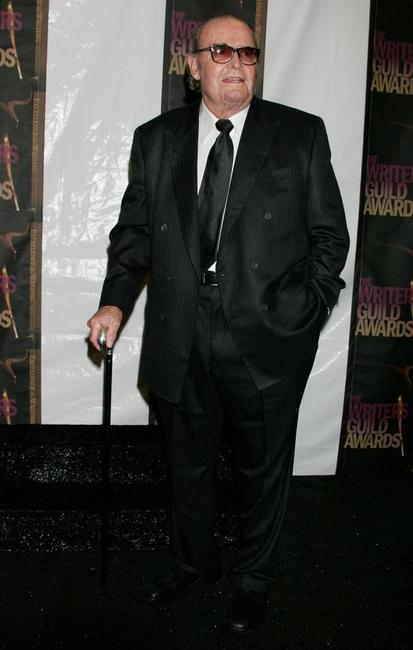 James Garner at the Paddy Chayefsky Television Laurel Award pose in the press room during the 2006 Writers Guild Awards.