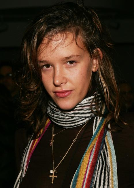 Paz de la Huerta at the afterparty of