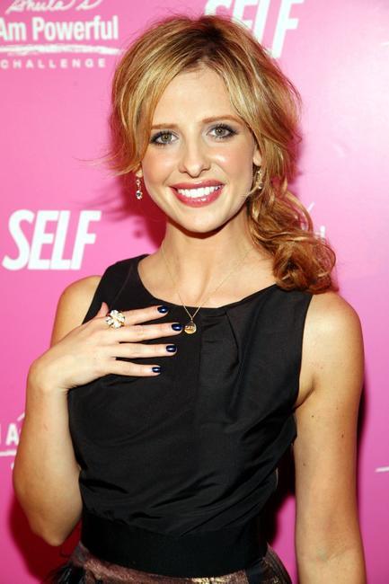 Sarah Michelle Gellar at the SELF Magazine's celebration for her cover.