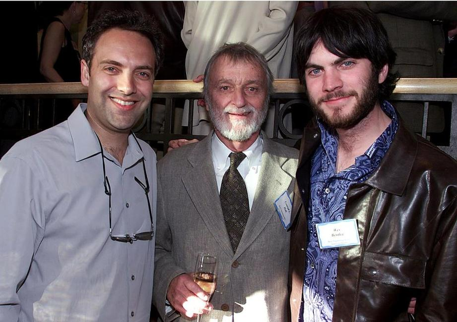 Sam Mendes, Conrad Hall and Wes Bentley at the BAFTA LA (British Academy of Film and Television Arts) Seventh Annual Oscar-nominees tea party.