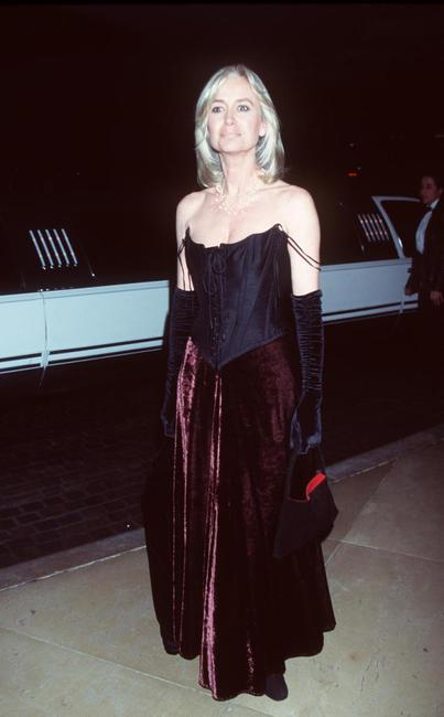 Susan George at the 1999 AFI Awards honoring Dustin Hoffman.