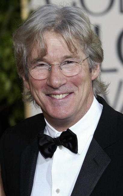 Richard Gere at the Golden Globe Awards in Beverly Hills.
