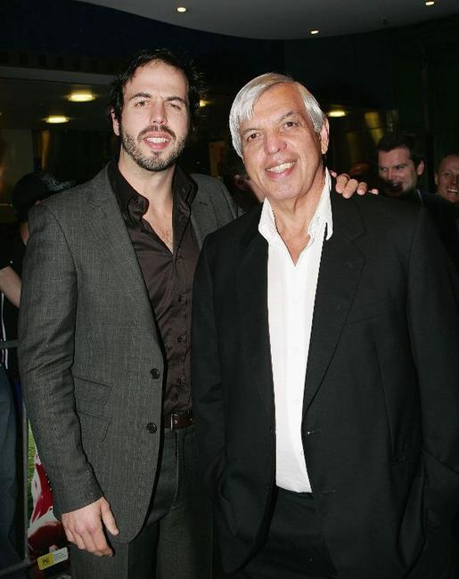 Angus Sampson and Graham Sampson at the world premiere of
