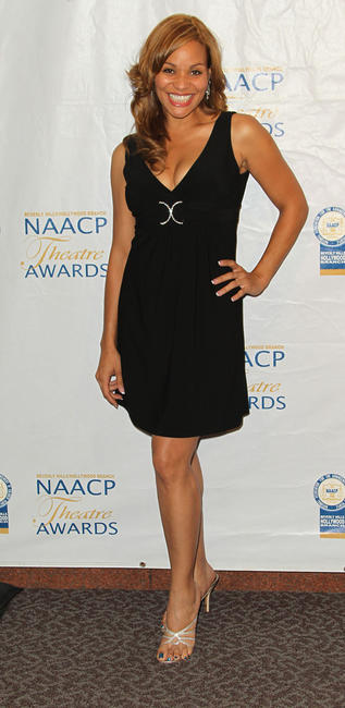 Jacqueline Fleming at the 21st Annual NAACP Theatre Awards in California.