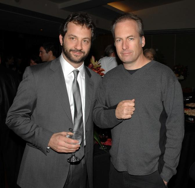 Director Judd Apatow and Bob Odenkirk at the Academy's Jack Oakie Celebration of Comedy in Film.