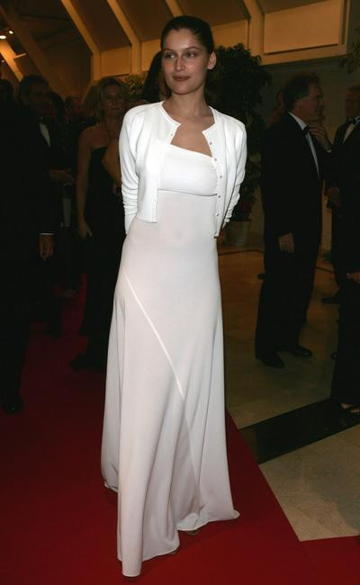 Laetitia Casta at the 58th International Cannes Film Festival opening night gala.