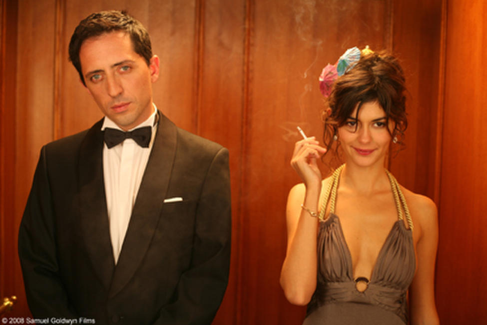 Gad Elmaleh and Audrey Tautou in