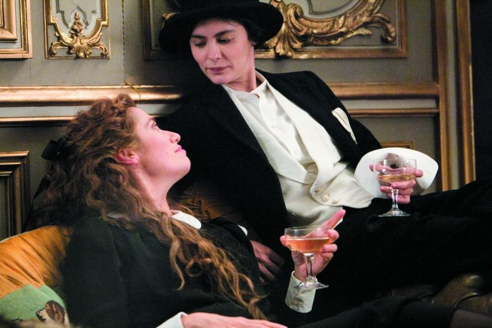 Emmanuelle Devos as Emilienne and Audrey Tautou as Coco Chanel in
