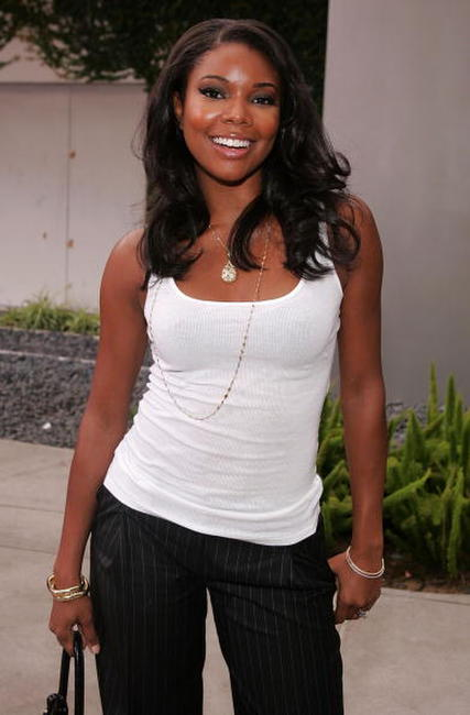 "Gabrielle Union at the premiere of ""Hustle and Flow"" in Hollywood."