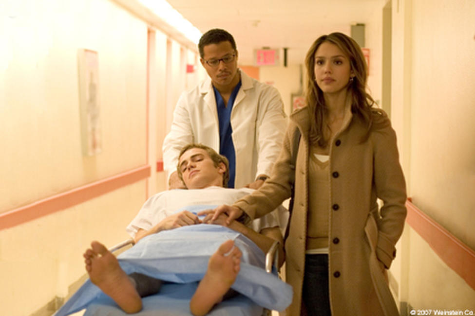 Terrence Howard, Hayden Christensen and Jessica Alba in