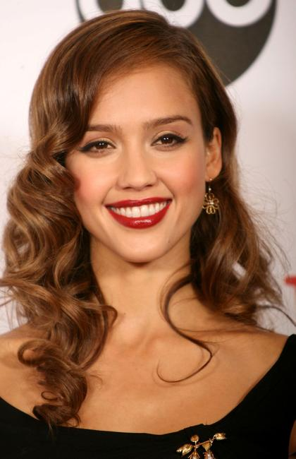 Jessica Alba at the 2007 NCLR ALMA Awards.