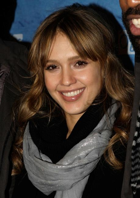 Jessica Alba at the premiere of